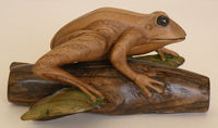 "This is NADA Frog, 7"" x 4-3/4"" x 3-1/2"", 2013"