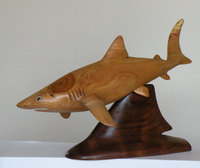 "This is NADA SHARK; 11"" x 6"" x 7"""
