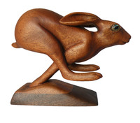 """Running Hare (no worries today)"", 8"" x 4' x 7"""